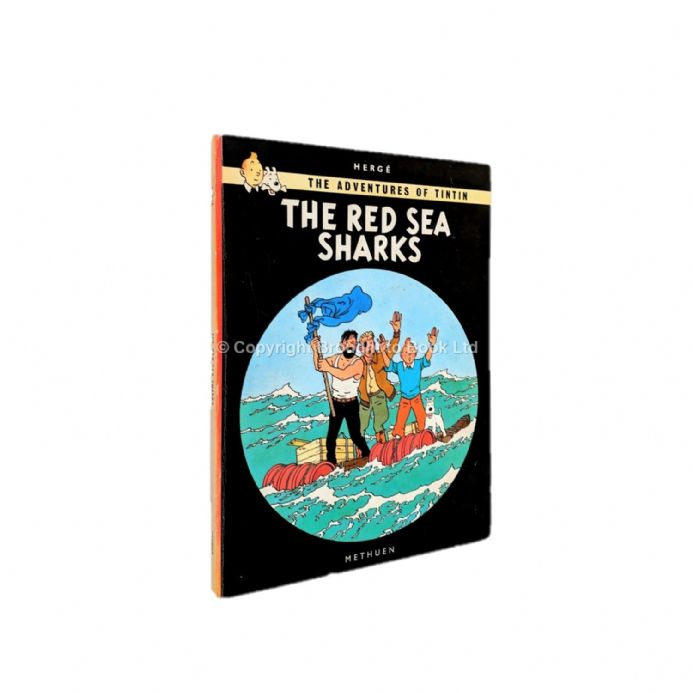 The Adventures of Tintin The Red Sea Sharks by Hergé First Edition Third Impression Methuen 1967